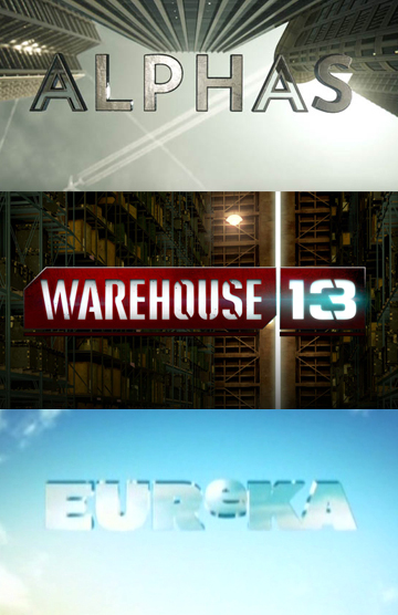 The Alphas of Warehouse13 in Eureka