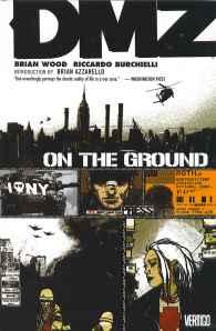 Cover image of DMZ comic