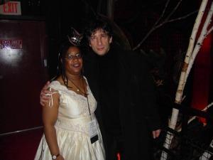 LaShawn Wanak and Neil Gaiman