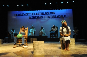 The Death of the Last Black Man in the Whole Entire World by Suzan-Lori Parks