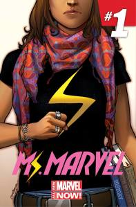 Ms. Marvel (2014) #1 cover