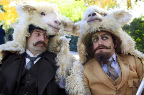 Caponi and Saint-Hubert -- The Extraordinary Adventures of Adele Blanc-Sec (2010)