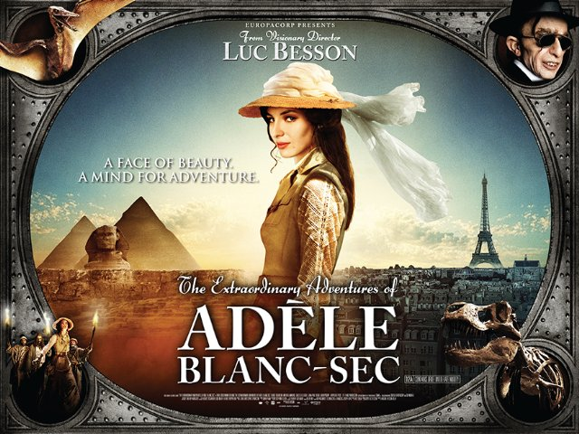 Film Review The Extraordinary Adventures Of Ad 232 Le Blanc