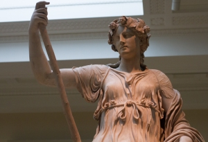 Thalia, Muse of Comedy is not impressed with Willful Child