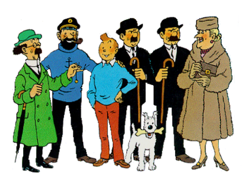 Tintin -- Main Cast