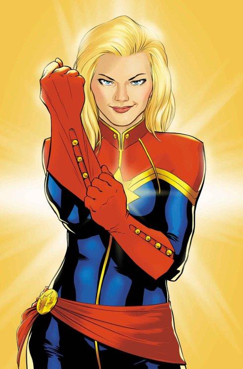 Captain Marvel -- Carol Danvers