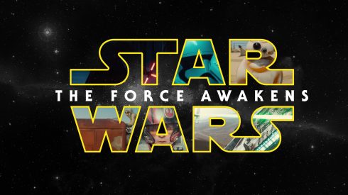 Star Wars -- The Force Awakens Title