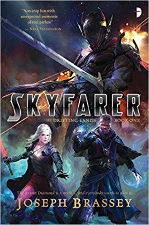 Cover: Skyfarer: The Drifting Lands, Book One, by Joseph Brassey