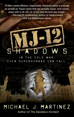 MJ-12: Shadows Cover