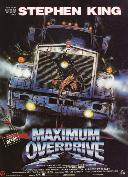 Maximum Overdrive Poster