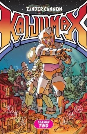 Kaijumax Vol 2 Cover